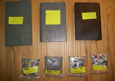 Samples of pellets